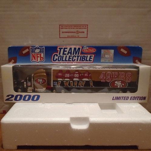 2000 San Francisco 49ers Tractor Trailer