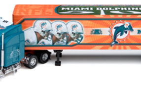 2006 Miami Dolphins Tractor Trailer