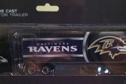 2013 Baltimore Ravens Tractor Trailer