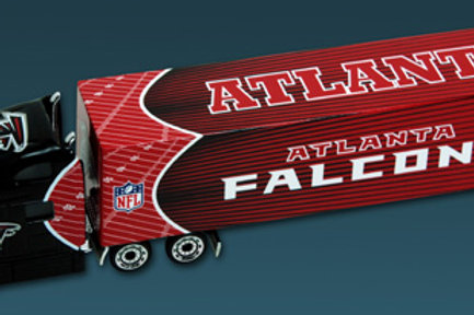 2010 Atlanta Falcons Tractor Trailer