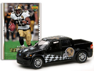 2007 New Orleans Saints Ford SVT Adrenaline w/Reggie Bush Card