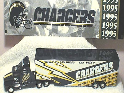 1995 San Diego Chargers WRC Tractor Trailer
