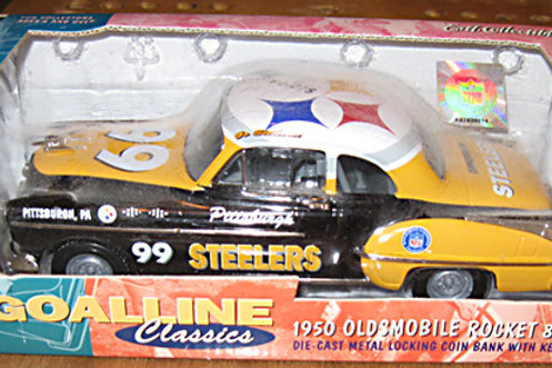 1999 Pittsburgh Steelers ERTL 1950 Oldsmobile Rocket 88