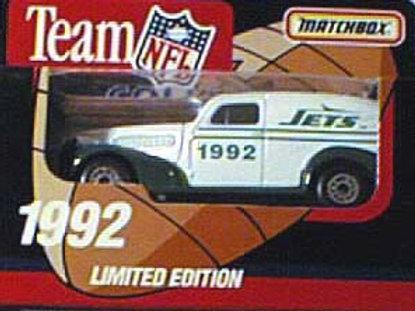 1992 New York Jets Delivery Van