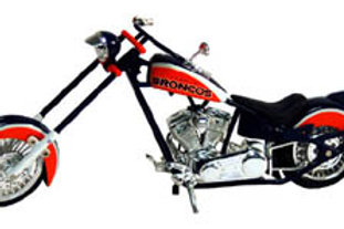 2006 Denver Broncos ERTL OCC Chopper