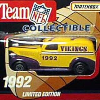 1992 Minnesota Vikings Delivery Van