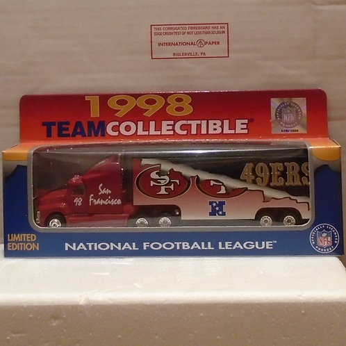 1998 San Francisco 49ers Tractor Trailer