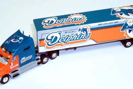 2002 Miami Dolphins Tractor Trailer