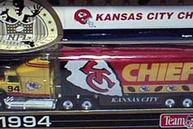 1994 Kansas City Chiefs Tractor Trailer