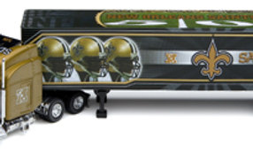 2006 New Orleans Saints Tractor Trailer