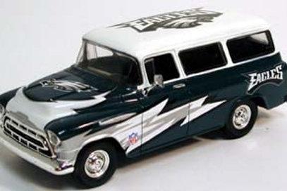 2005 Philadelphia Eagles 1957 Chevrolet Suburban