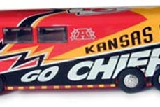 2004 Kansas City Chiefs Bus
