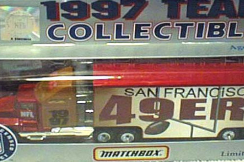 1997 San Francisco 49ers Tractor Trailer