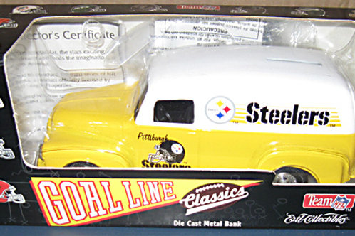 1995 Pittsburgh Steelers ERTL Panel Van