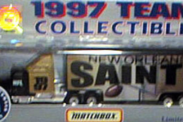 1997 New Orleans Saints Tractor Trailer