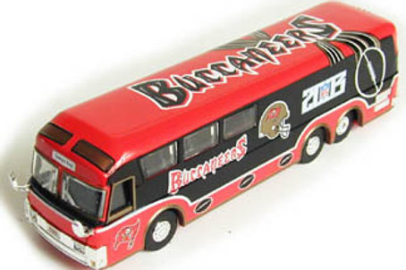 2003 Tampa Bay Buccaneers Motorcoach Bus