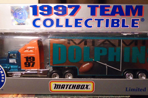 1997 Miami Dolphins Tractor Trailer