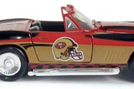 2004 San Francisco 49ers 1967 Corvette