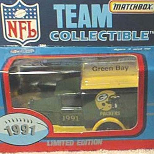 1991 Green Bay Packers Milk Truck