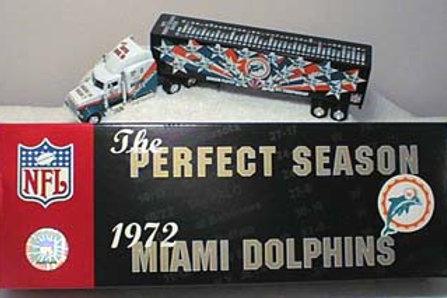 "2000 Miami Dolphins ""The Perfect Season"" Tractor Trailer"