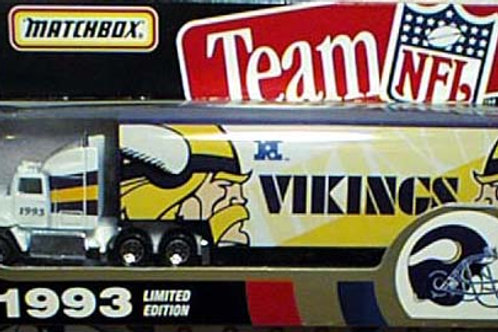 1993 Minnesota Vikings Tractor Trailer