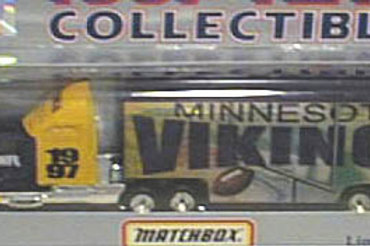 1997 Minnesota Vikings Tractor Trailer