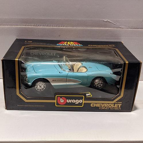 1957 Chevrolet Corvette (blue)
