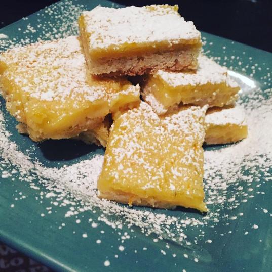 classic lemon squares