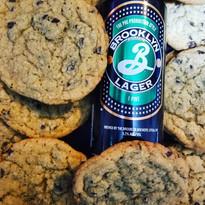 Brooklyn lager chip cookies