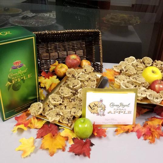 Maple Crown Royal Regal Apple Crumb pies