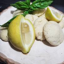 Lemon basil cookies