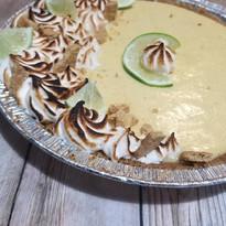 Key lime pie variation.