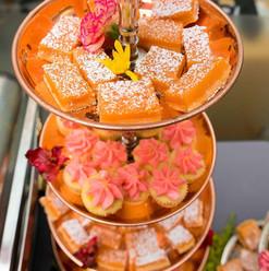 Bluecoat gin Negroni bars & Jasmine cupcakes