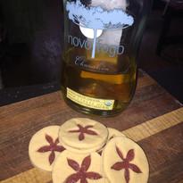 Novo Fogo linzer cookies