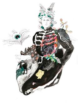 Queen Maeb by Violeta Bravo