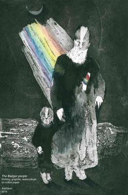 The Badger People by Violeta Bravo