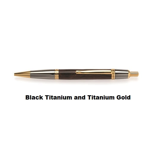 Wall Street II Click Ballpoint Pen-Choice of 7 finishes w/a variety of woods-2