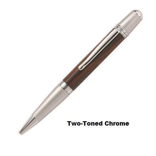 Wall Street II Twist Ballpoint Pens-Choice of 6 finishes w/a variety of woods-3