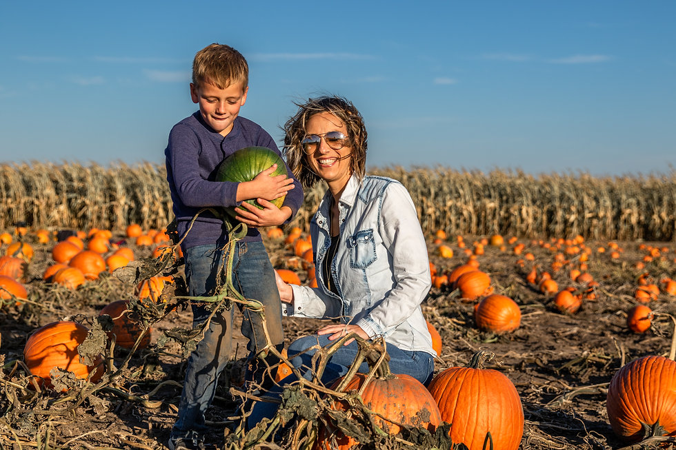 Mom & Son Pumpkin Patch.jpg