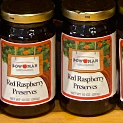 Red Raspberry Preserve 10oz