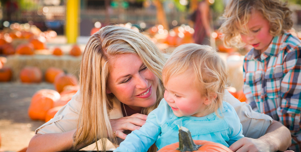 Mom and Kids Pumpkin Patch Stock.png