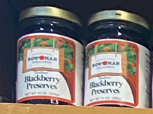 Seedless Blackberry Preserve 10oz