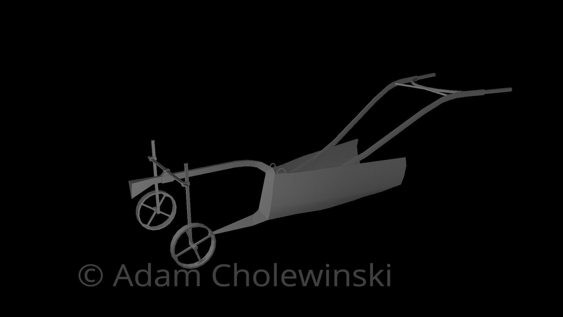 Horse Drawn Plough Finish