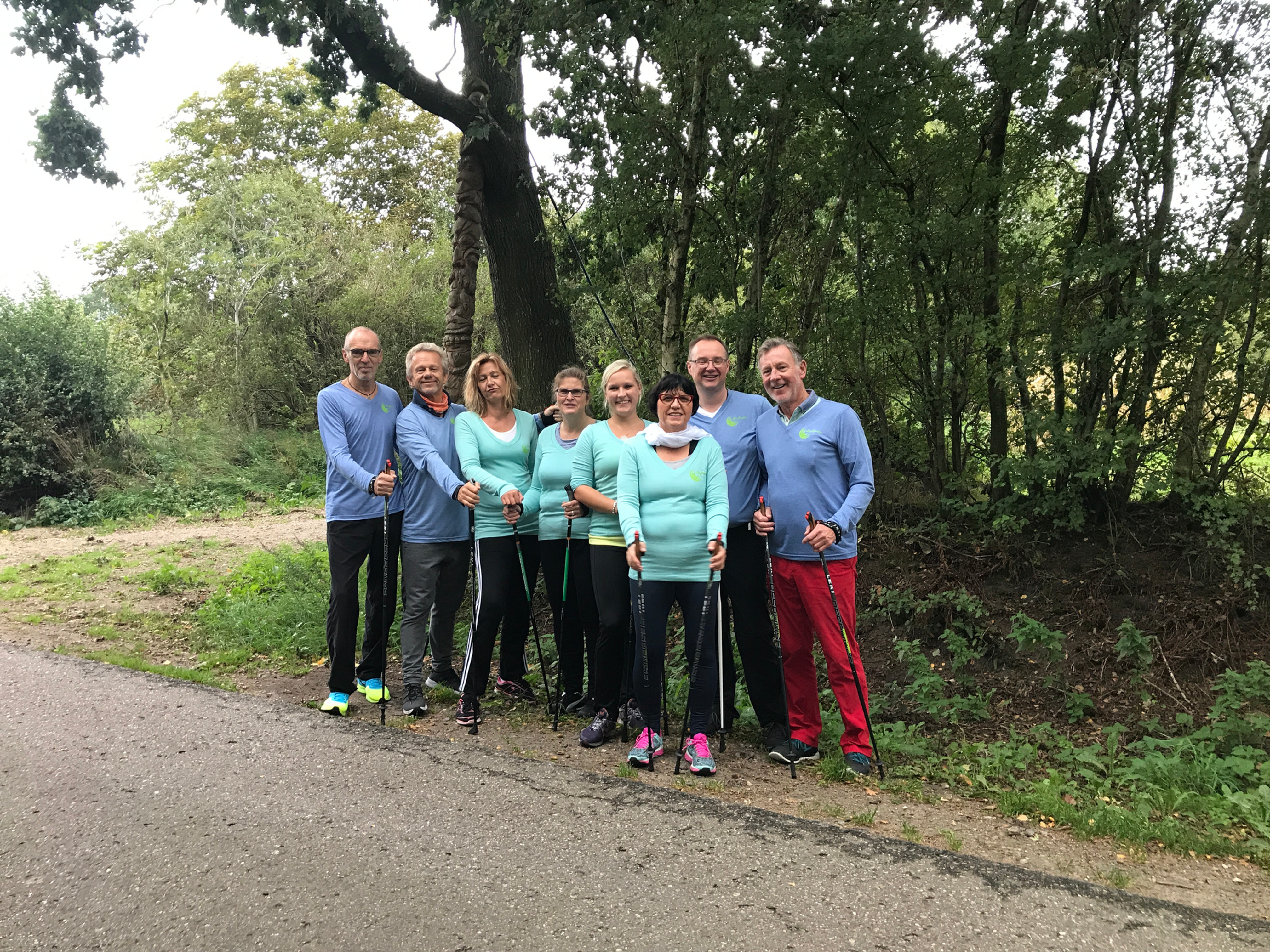 Nordic Walking Gruppenunterricht