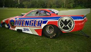 When super heroes get supercharged – Donnelly reveals The Avenger!