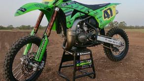 Brad West wins at Coolum, Jason West debuts new Kawasaki KX85