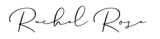 Rachel Rose Logo | Brand Agency | Abi Neill | Bridal & Retail Specialist