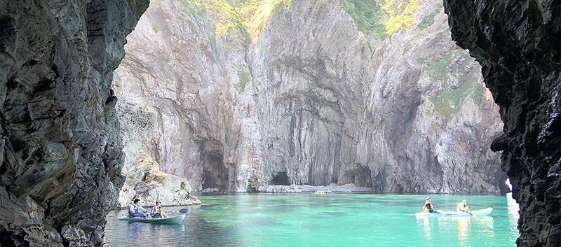 洞窟カヤック