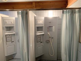 温水シャワー