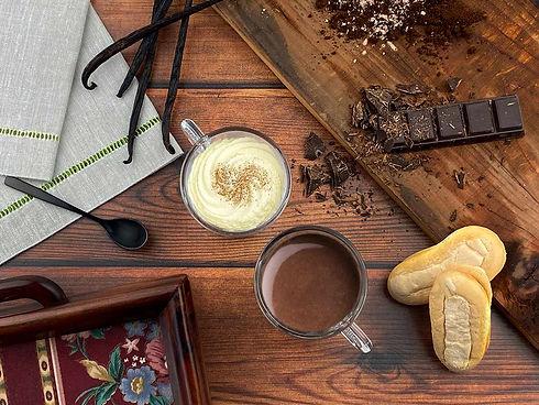 chololate a taza-xocolata desfeta-confitería padreny reus tarragona